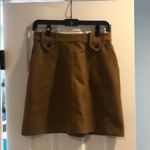 NWOT Orla Kiely wool mini skirt 4